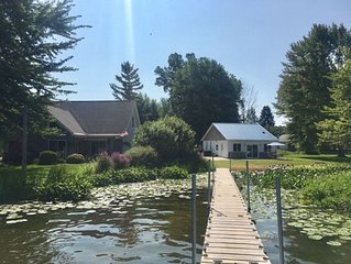 Breathtaking Lakefront View  - Pontoon Available! Coldwater Chain of Lakes