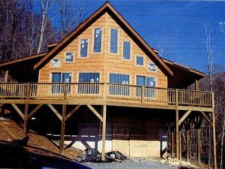 Rustic Serenity - Beautiful Mountain Home