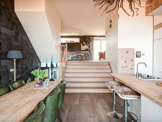 Cosy Split Level House Near Amsterdam And Beach