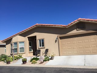 55+ retirement community Secure quiet perimiter property with great views.