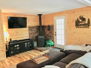 Cozy Newly Renovated 2BD Cottage Walk To Sandy Beach Near North Conway