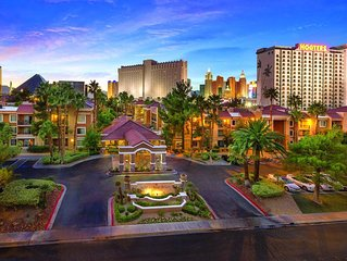 Family Friendly Resort With 1 BR/1 BA Suite Just 1 1/2 Blocks Off The Strip