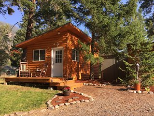 NEW LISTING ☼ Gorgeous Cabin on World Famous Blue Ribbon Trout Stream Rock Creek