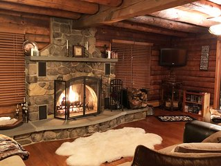 Pocono Log Cabin Retreat!