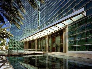 Miami luxury rental at Conrad Hilton Tower on Brickell