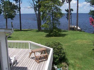 Waterfront home w/ private 43 ft pier & fantastic views!  *Minimum 2 night stay*