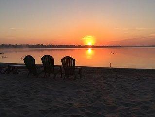 Sunrise On A Gorgeous Lake