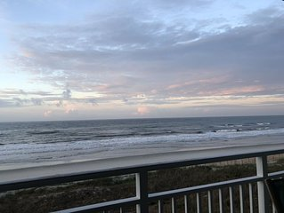Oceanfront Condo with 3 bedrooms and 3 patios!