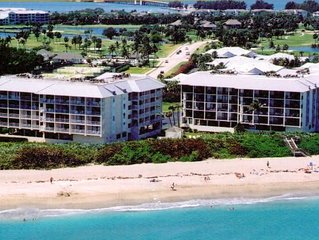 Only Have a Week? Unwind at Our Hutchinson Island, FL Oceanfront 2 BR Condo
