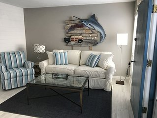 COMPLETELY RENOVATED FABULOUS BEACH GETAWAY CLOSE TO ALL YOU COULD NEED!