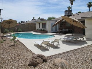 Old Town Scottsdale * Private Pool * Inquire About Weekly and Monthly Discount