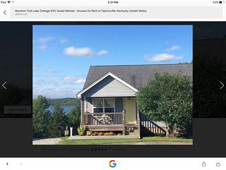 Bourbon Trail Lake Cottage #39, Sweet Retreat