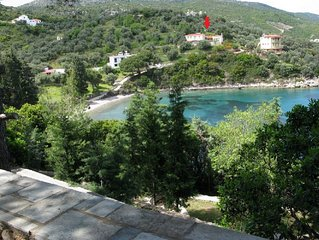 Agios Petros by the Sea / Traditional House located on a magnificent bay