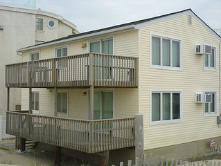 Ocean Front Duplex, First Floor Long Beach Island, North Beach Haven