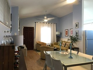 Spacious Two-bedroom Apartment Two Blocks from the Beach