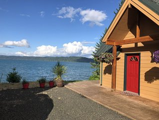 Hood Canal Waterfront Home - Incredible Views, Wildlife, Oysters,  Kayaks!