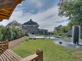 Stately 1925 Classic with Salt-Water Pool and Hot Tub