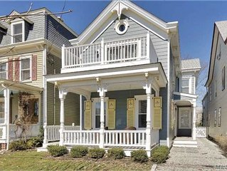 Enchanting home with beautiful bay views in the heart of Greenport Village
