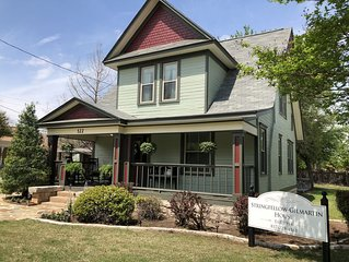 Only two short blocks to the exciting Historic Granbury Square!!