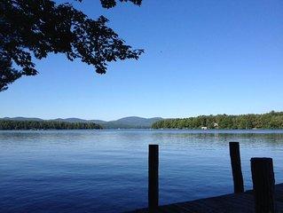 Lake Winnipesaukee, sleeps 4, w/boat slip for 21'