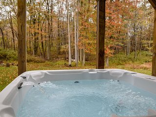 Spacious home with HOT TUB,perfect family getaway, BEST LOCATION in Poconos