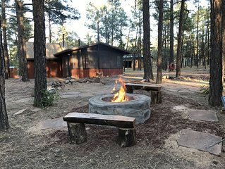 Wild Saddle Ranch Cabin-Our gate opens to the Sitgreaves National Forest!