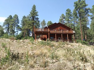 This is a Big comfortable cabin in the forest and within 1 hr to ski resorts