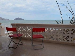 Las Palmas Beach Front Condo # 1 - THE BEST BEACH IN SAN FELIPE