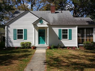 ~GardenSea Cottage~ Just a few blocks to downtown historic New Bern.