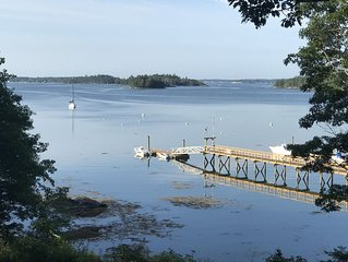 Boothbay Waterfront Cottage: The Little House on Sawyer's Island