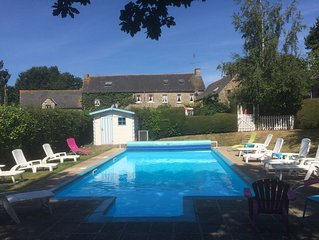 Fuchsia Cottage, Heated Swimming Pool, Free Wifi, Satellite TV, Ferry Discount