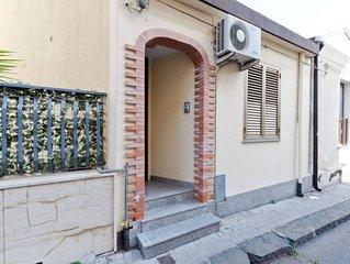 Casa Indipendente zona centro-Casale Papandrea 2km dal mare vicino Taormina-Etna