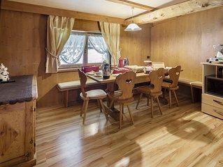 Appartamento a Cortina nell'incantevole e panoramica frazione di Alverà