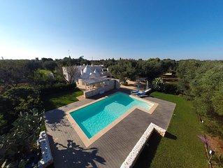 Trullo del Salento  con piscina - WI FI - OFFERTISSIMA SETTEMBRE-OTTOBRE 2019 !!