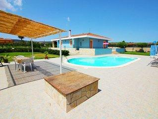 Villa indipendente con giardino e piscina privata...