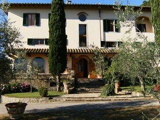 Villa Poggio 'Alle Montanine' -  Casa vacanze a 10 Km da Firenze