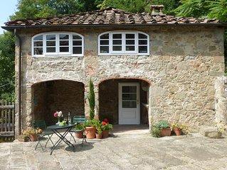 Hillside Cottage Near Bagni Di Lucca with wifi