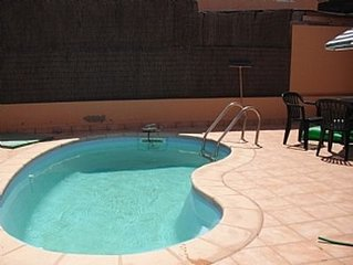 2 bed Villa with Private Pool and pool cover