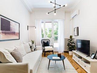 Classy & Charming 1BD Apartment in Kolonaki