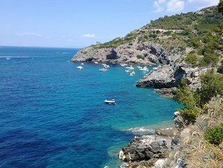 Porto Santo Stefano: Appartamento con accesso privato al mare su scogliera
