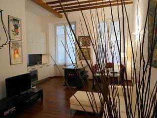 AL DUCALE-Appartamento centro storico Genova-2 camera 6 posti letto