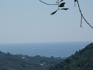 Casa fra gli ulivi, terrazze, parcheggio privato, vicino al mare - Casa Ferrari