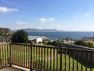 St Vincent's, a prime seaside location,  sleeps 6, with garden, pet friendly