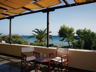 Villa Thalassini Memi Beach, Koroni, Peloponnese