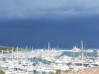 Attico con vista straordinaria: mare e monti port Vauban Cap d'Antibes