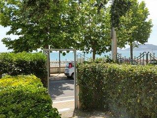 Favoloso appartamento con terrazzo in villino fronte spiaggia di Vindicio- Formi