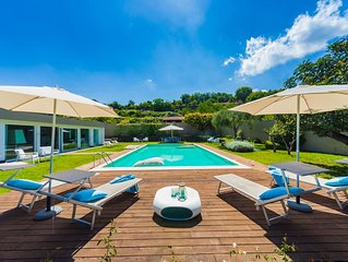 Private pool, stylish