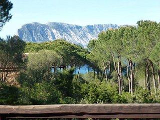SARDEGNA - CAPO CODA CAVALLO - Villa a 150 metri dal mare.