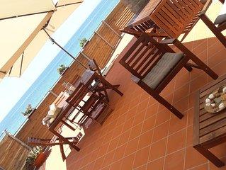 Appartamento sulla spiaggia a  Santa Maria di Castellabate (Sa) 'Cilento'.