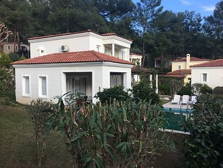 A delightful secluded detached villa with own pool in the pine forest in Gocek